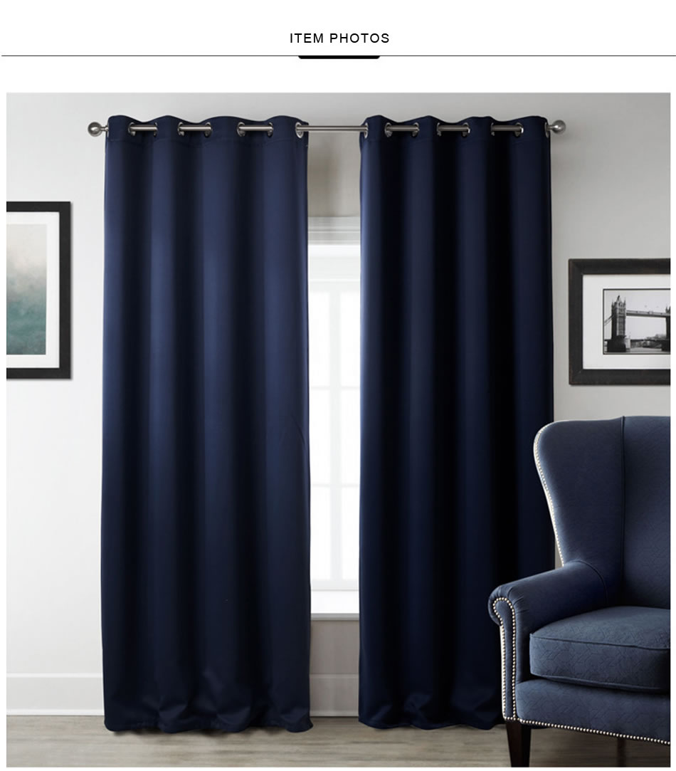 2019 New Modern Blackout Curtains For Window Treatment Blinds Finished Drapes Window Blackout Curtain For Living Room The Bedroom Blinds From