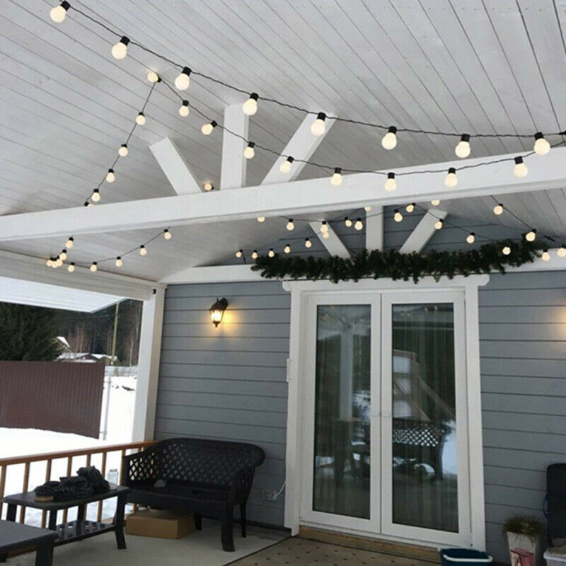 6M 20 LED Bulb Light String Transparent Decorative Light Bulb Fairy Light String Indoor/Outdoor Party Garden Decoration6M 20 LED Bulb Light String Transparent Decorative Light Bulb Fairy Light String Indoor/Outdoor Party Garden Decoration