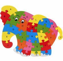 Головоломки животных деревянные игрушки для ребенка с делом без упаковочная коробка