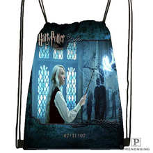 Custom harry_potter_artwork_  Drawstring Backpack Bag Cute Daypack Kids Satchel (Black Back) 31x40cm#2018611-24