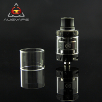 Augvape Merlin Mini RTA Atomizer Tank With Replacement 2ml Clear Glass Tube 24mm Single Dual Coil