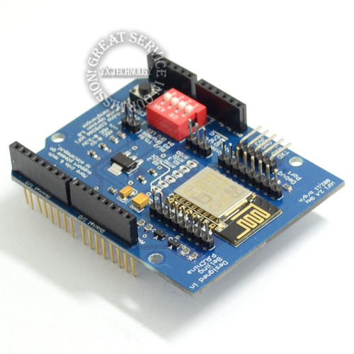 ESP8266 Web Sever serial WiFi expansion board shiled ESP-12E for  uno r3UNO R3 diy