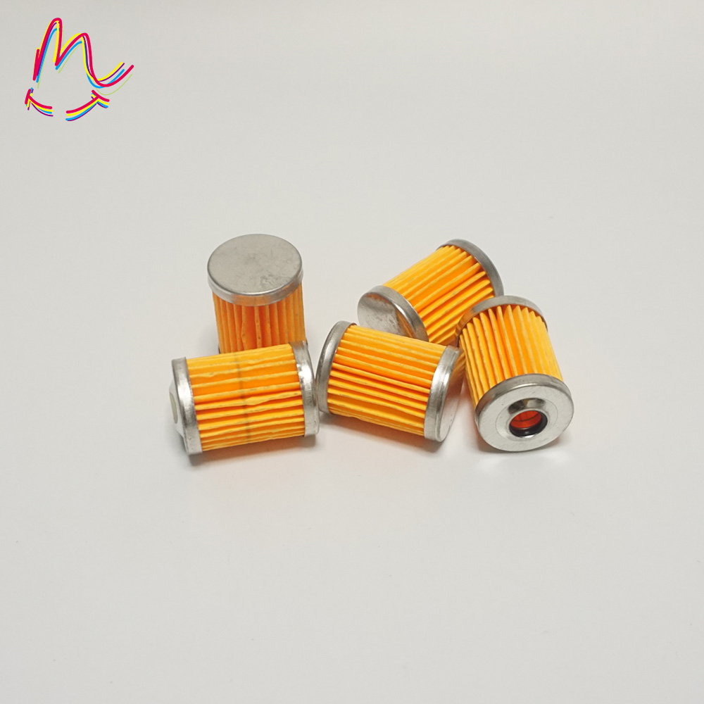 10x 1//4/'/' 6-7mm Hose Gas Inline Fuel Filter Fit For Motorcycle Harley Dirt Bike