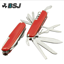 11 In 1 Swiss Knife Folding Multifunctional Tool Set Hunting Outdoor Survival Knives Portable Pocket Compact Military Camping
