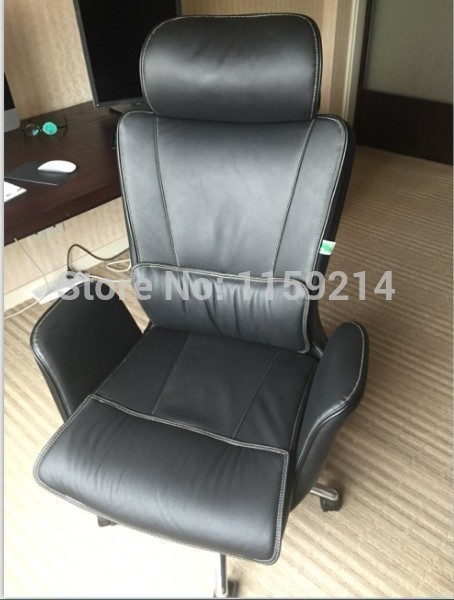 office meeting room chair company boss stool lifting rotation lyting chair black brown color free shipping