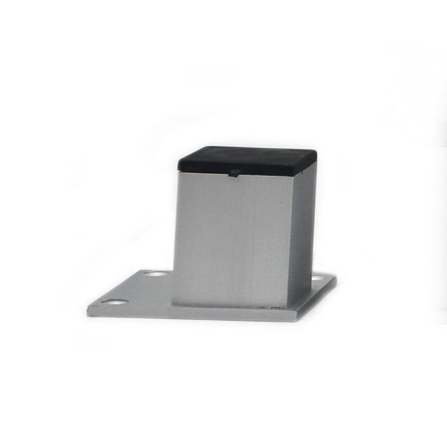 4 unids 5 cm gabinete de aluminio Pies tabla metal Patas para ...