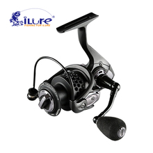 iLure Brand 2017 New Fishing Reel 5.2:1 7BB Super Light Weight  Max Drag 20 KG Carp Fishing Spinning Reel Pesca Free shipping