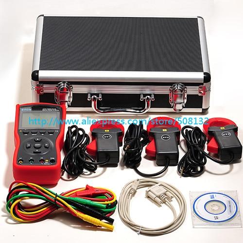 ETCR4700 сети переменного тока три 3 фазы Цифровой фазный Вольт-амперметр переменного тока ETCR-4700