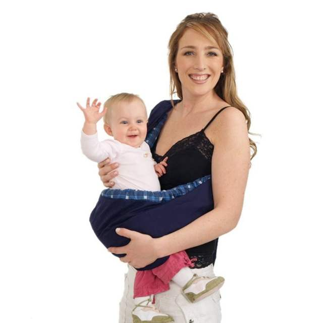 d48bb92faba OUTAD Baby Wrap Sling Toddler Newborn Cradle Pouch Ring Carrier Stretch  Nursing Papoose Pouch Wrap Front