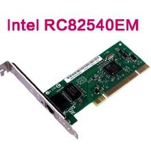 Intel RC82540EM Chip PCI Gigabit Ethernet Kabelgebundene Netzwerkkarte 1000 Mbps Ethernet LAN Controller Server Adapter RJ45 Port mit CE