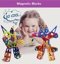 132 шт. Мини Магнитный Building Blocks Набор Магнитный Конструктор Construction Set Строительные Игрушки Развивающие Игрушки Для Детей Подарок