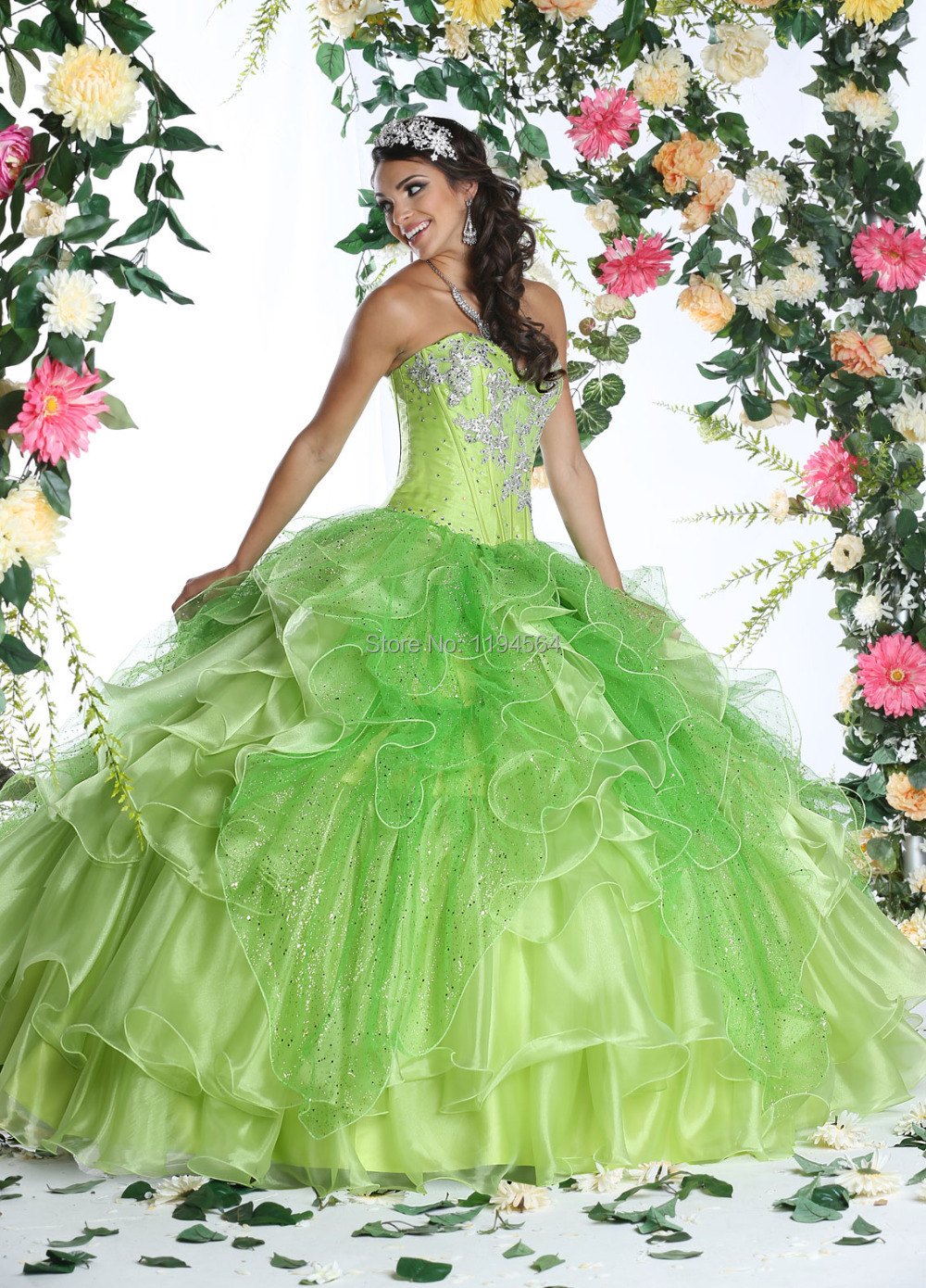 Online Get Cheap Lime Green Ball Gown -Aliexpress.com | Alibaba Group