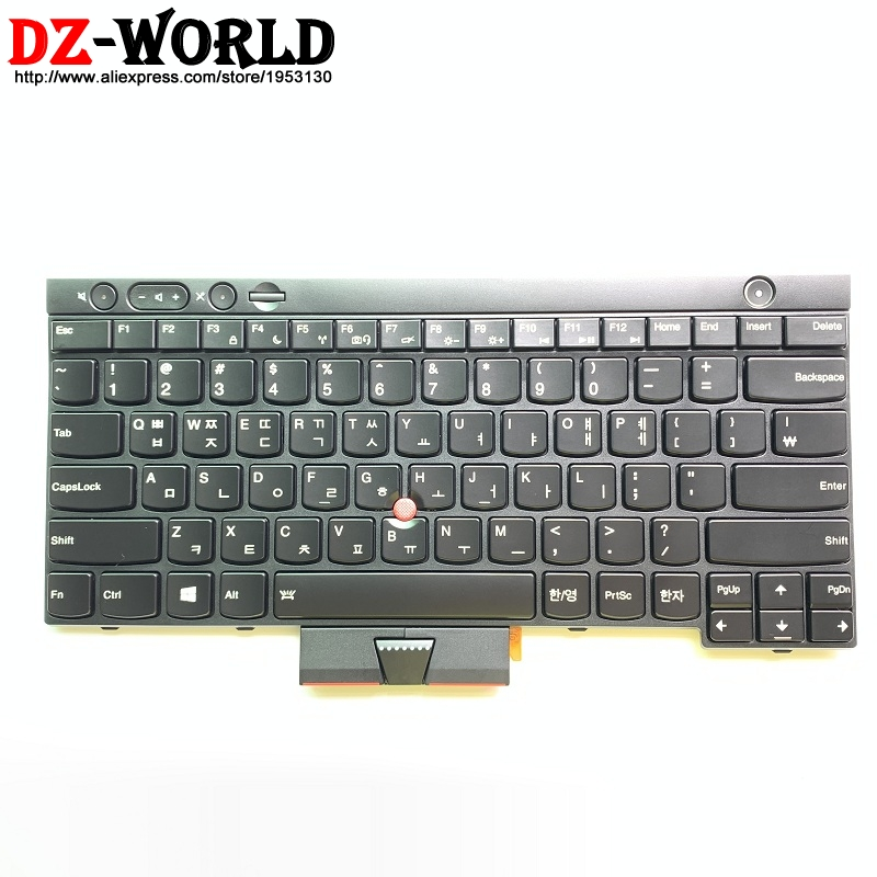 Korean Backlit Keyboard For Lenovo Thinkpad T430 T430i T430S T530 T530i W530 X230 X230i Tablet KOR Backlight Teclado 04Y0560