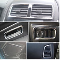 For 2011-2013 Mitsubishi ASX Auto Accessoires 17pcs/Lot ABS Chrome Trim Interior Light Bar Car Styling Hot Sale