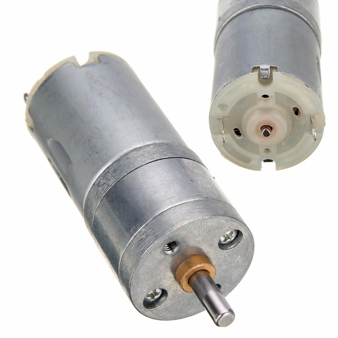 1pc high torque geared box motor 12v dc 1000rpm mini