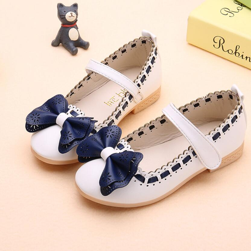 Fall Children kids Girl Shoes Toddler Baby Princess Single Shoes Students Shoes