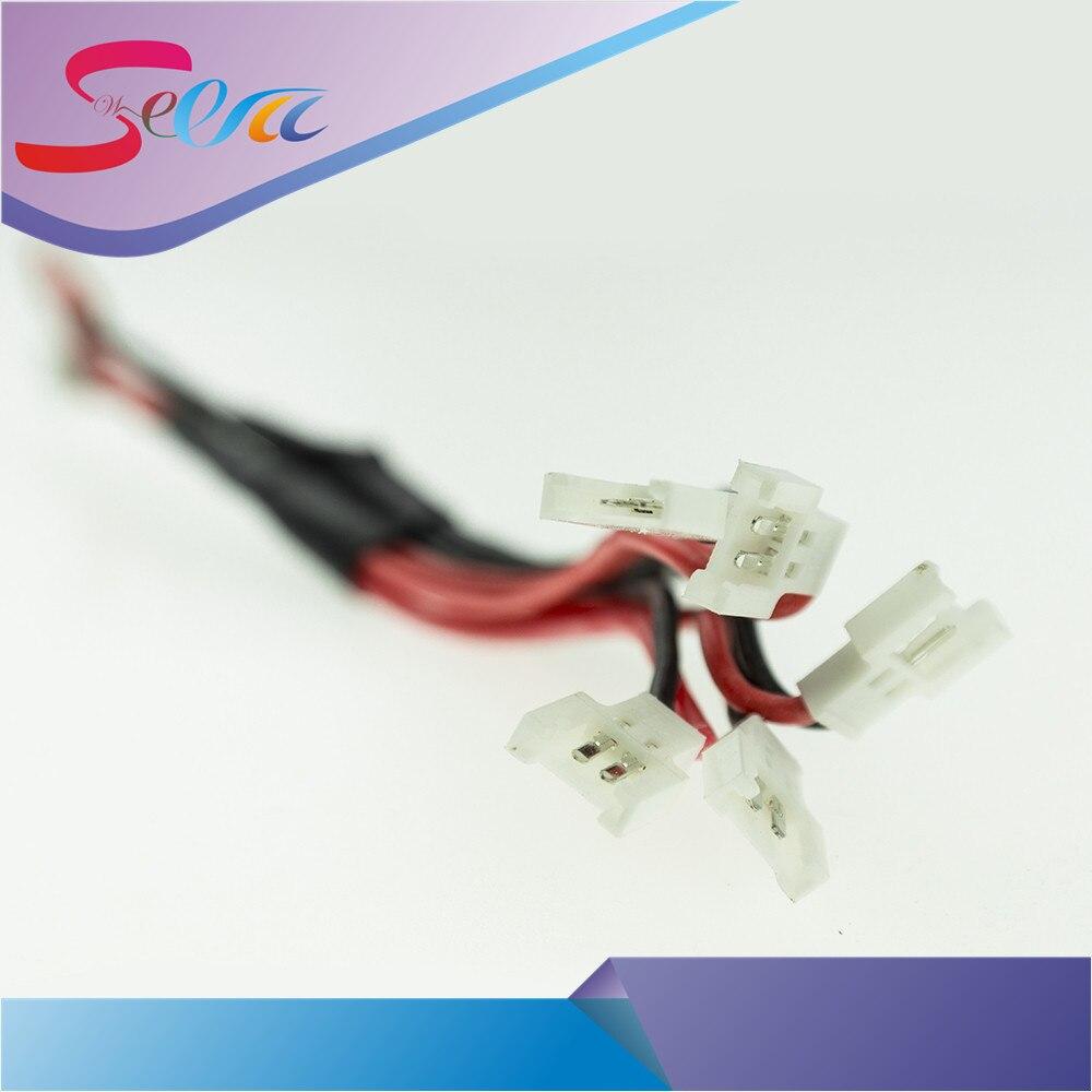 2017 Best 3.7 В зарядный кабель 1 до 5 Баланс V930 V977 v966 V988 Hubsan X4 H107L H107C H107D h109s JXD385 FY310B SYMA x5c