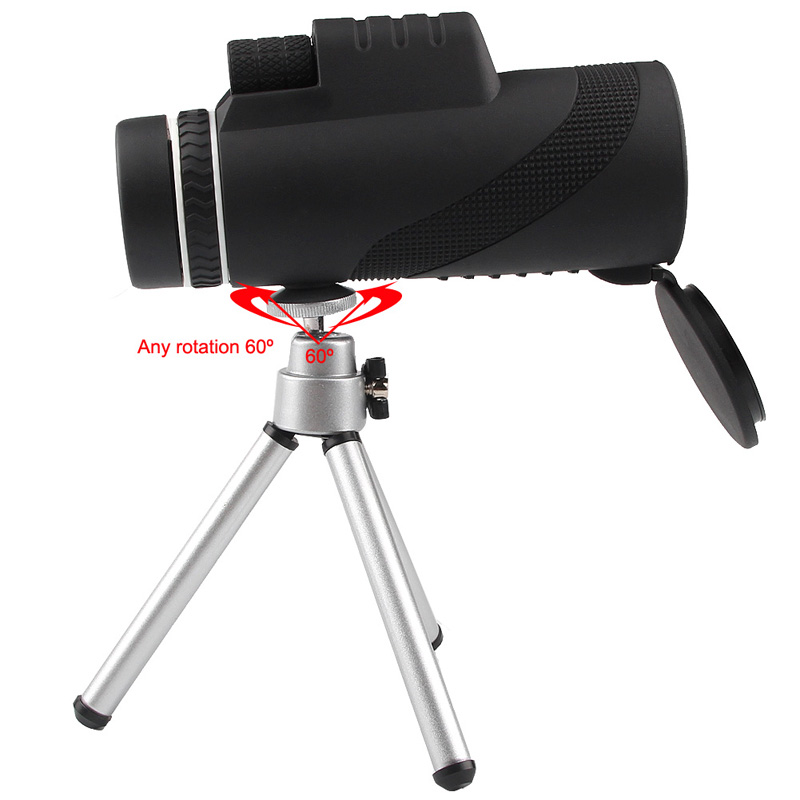 HD 40x60 Monocular High Definition Telescope for Mobilephone Low Light Night Vision RL38-0006-06