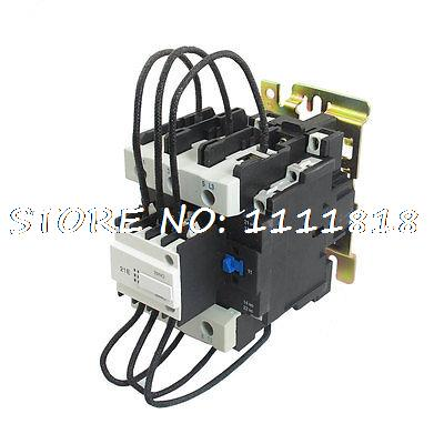 CJ19-80 Ui 500V 36V Coil 80A Pole 1NO Changeover Capacitor AC Contactor 660v ui 10a ith 8 terminals rotary cam universal changeover combination switch