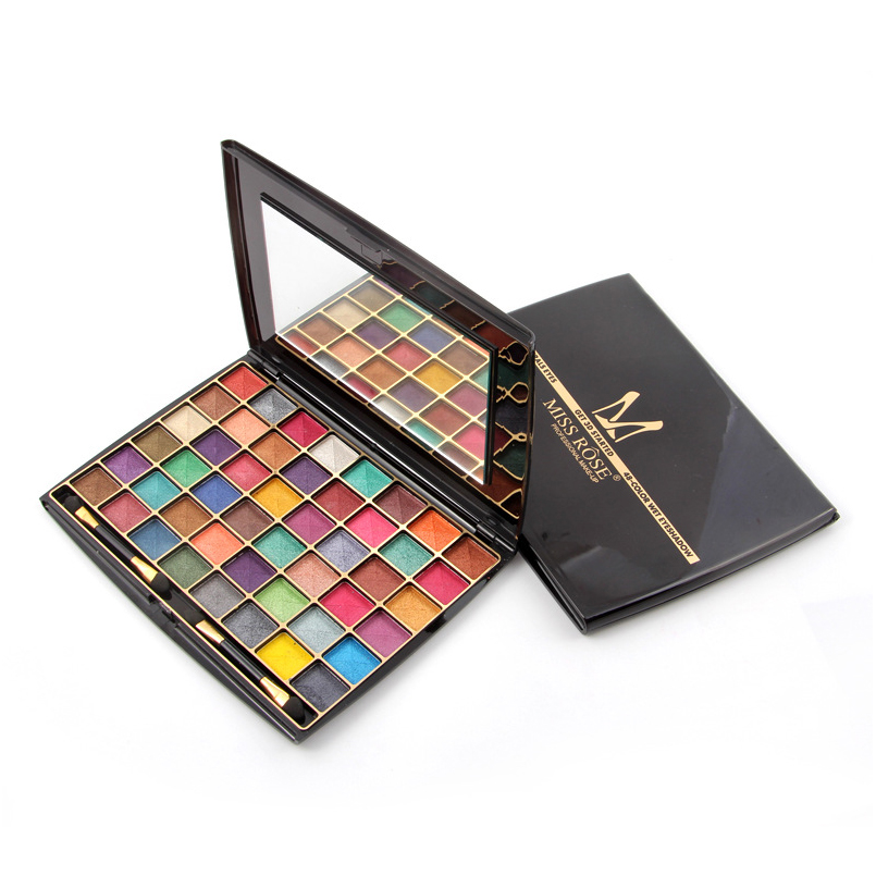 21 Colors Shimmer Matte Eyeshadow Makeup Palette Glitter