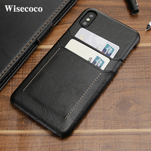 Чехол для телефона с отделением для кредитных карт для Iphone X, Xs, 11pro, Max, Xr, 8, 7 Plus, 8 plus, Роскошный кожаный бумажник, противоударный чехол-накладка