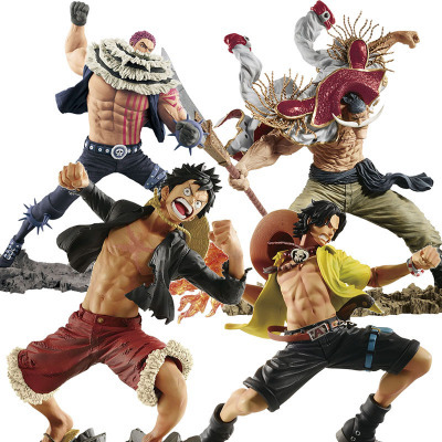 Straightforward Action Figure One Piece 20th Anniversary Monkey D Luffy Charlotte Katakuri Anime Model Dolls Decoration Figurine Toys Gifts Toys & Hobbies