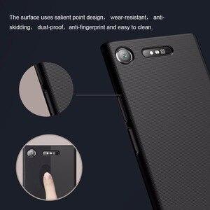 Image 3 - 10 Cái/lốc Bán Buôn Hiệu Nillkin Super Frosted Shield Cho Sony Xperia XZ1 Cứng PC Ốp Lưng Dành Cho Xperia XZ1 ốp Lưng 5.2 Inch