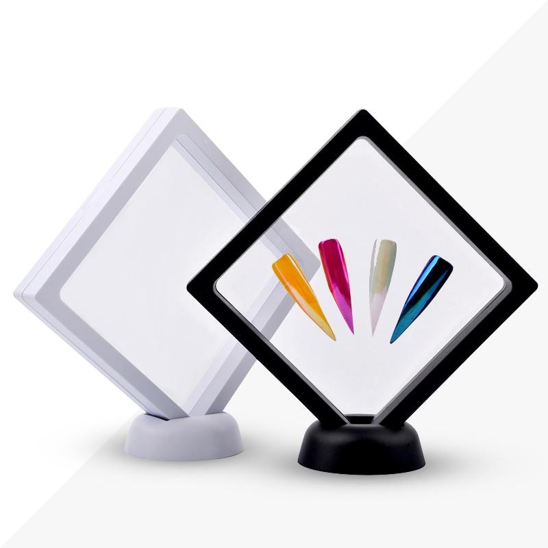 transparent platz kunst nagel regale farbe karte display stnder schwarz wei nagelspitzen praxis stehen nagel gel foto zeigt regal - Kunstnagel Muster