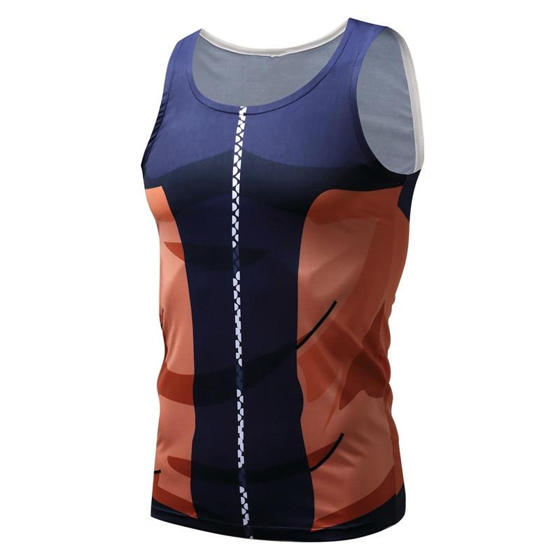 Compression Tank Tops Dragon Ball 3D Printed T-shirts Sleeveless Casual Vest Singlet Tanktop Cosplay Wear Many Pattern XXXL