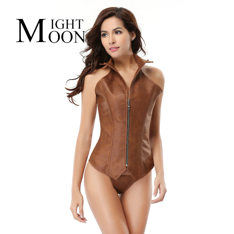 MOONIGHT 16 Steel Bone Waist Intimates Bustiers & Corsets Everyday Waist Cincher Slimming Shapewear Handsome Bodysuit