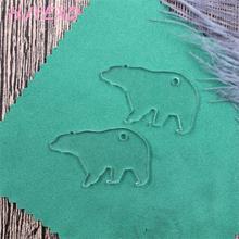 (20 sztuk/partia) 38mm brelok akrylowy Flamingo ananas lamy koń piwa mama dziecko breloki laserowe Cutout AC1496D