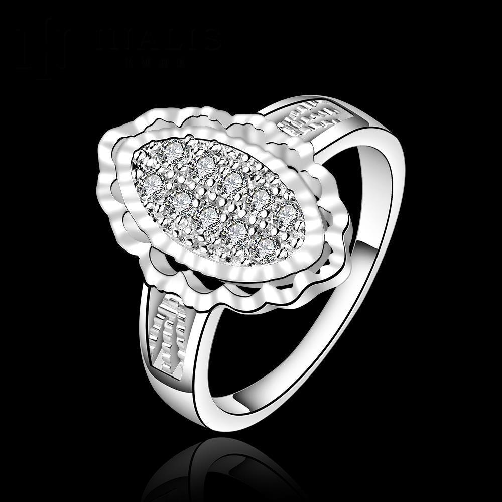 8f6cd5c77aee Venta caliente! moda ANILLO DE PLATA 925 joyería de plata esterlina ...