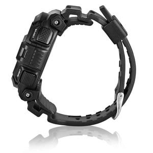 Image 3 - Montre homme numérique 2019 Sport Spovan montre bracelet noir rétro éclairage 2019 étanche qualité militaire A Erkek Kol Saati forte
