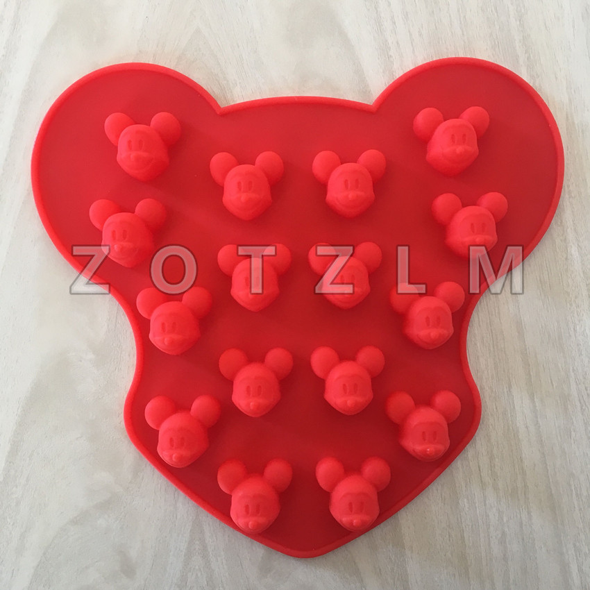 Kitchen,dining & Bar Ingenious 1 Piece 16 Holes 3d Cartoon Mouse Shape Silicone Mold Kitchen Tools Candy Cookie Mould Chocolate Jelly Cake Pastry Tools Gjd068 Baking & Pastry Tools