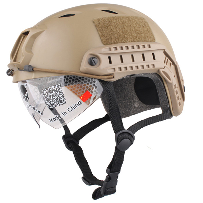 sports Helmet Base Jump Cover Protective Goggles series Airsoft Paintball Military Tactics Airsoftsports For Hunting climbing эрекционное кольцо wow cocking розовое