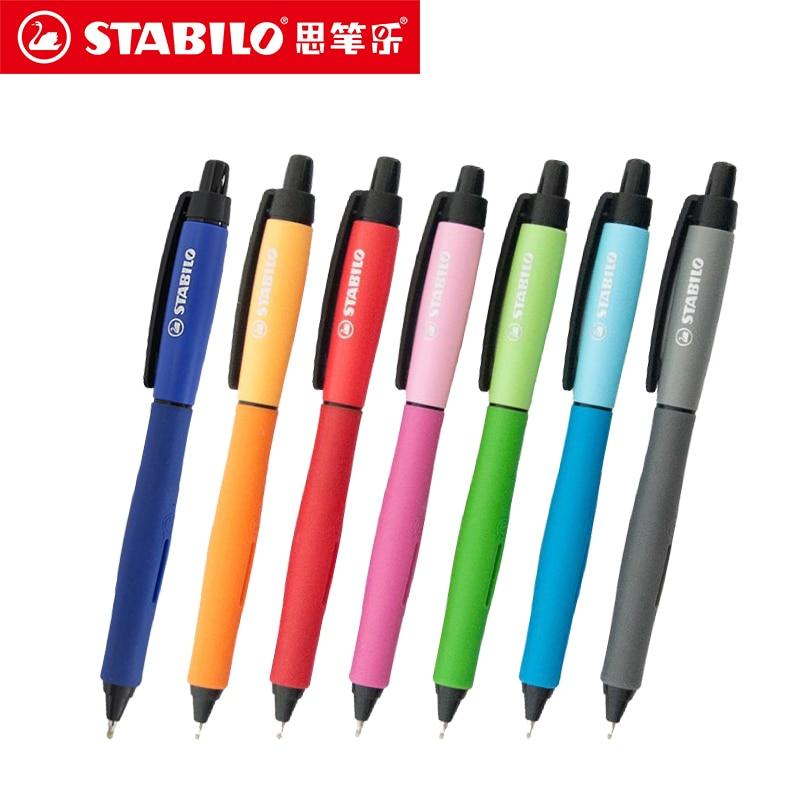Stabilo Ballpoint Pen Gel Pen Three Colors Black/Blue/Red 0.5mm Ballpoint Pen Fine Line Stationery School & Office Supplies