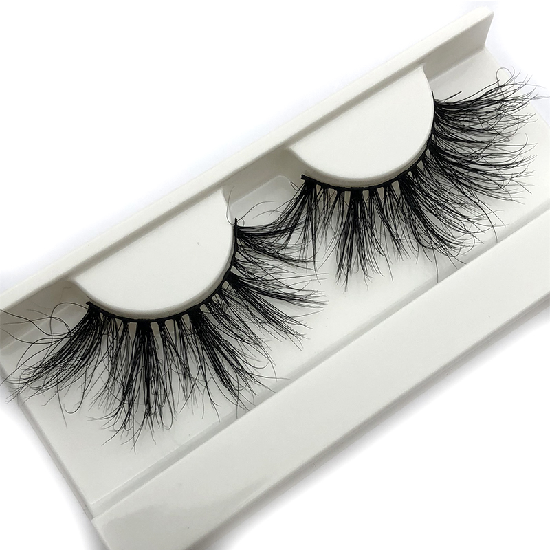 Mikiwi 25mm 3D Mink Lashes E03 100% Cruelty free Dense soft Natural 25mm Mink Lashes False