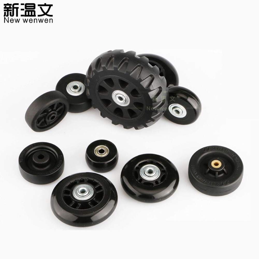 e916aa41bb47 US $9.68 12% OFF|DIY Replacement Luggage Wheels,Replacement Travel trolley  suitcases Spinner Wheels for Luggage Repair Parts W7#-in Bag Parts & ...
