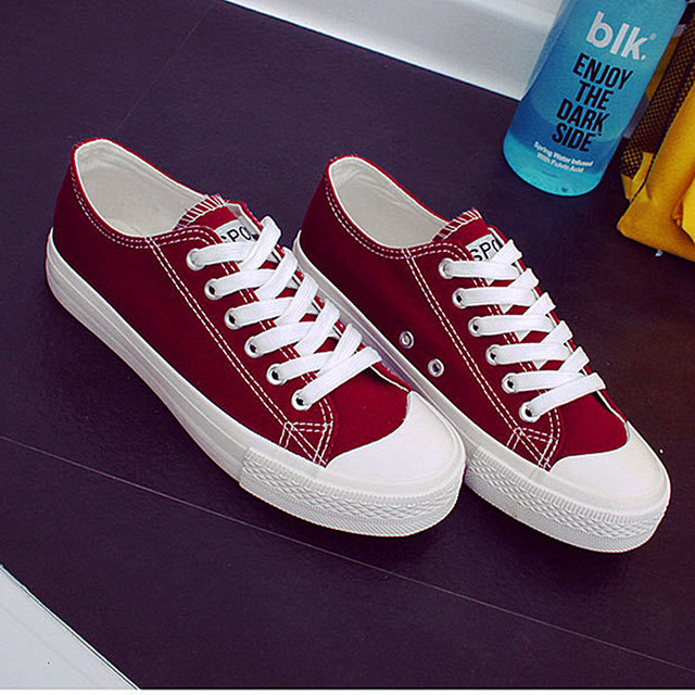 Women Casual Canvas Shoes Summer White Shoes Trainers Girls fashion Canvas New 2017 Trainers Fashion Shoes Flats Basket