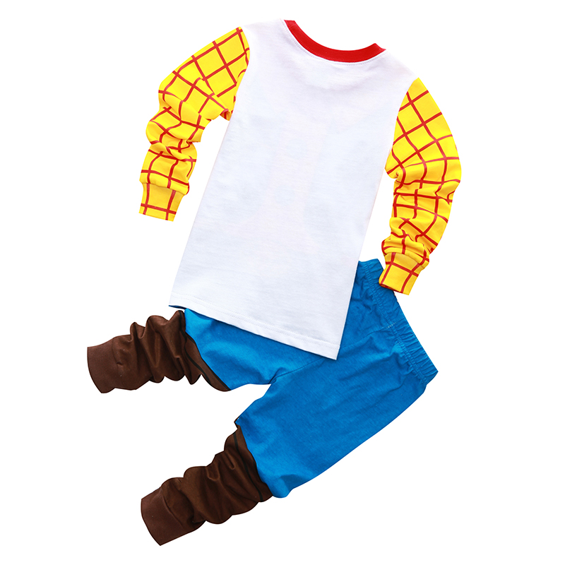 3fa0b5f203 New Arrival toddler boy clothes set Buzz Lightyear kids pajamas set cartoon  woody pijama infantil super mario bros pijama 2pcs-in Pajama Sets from  Mother ...