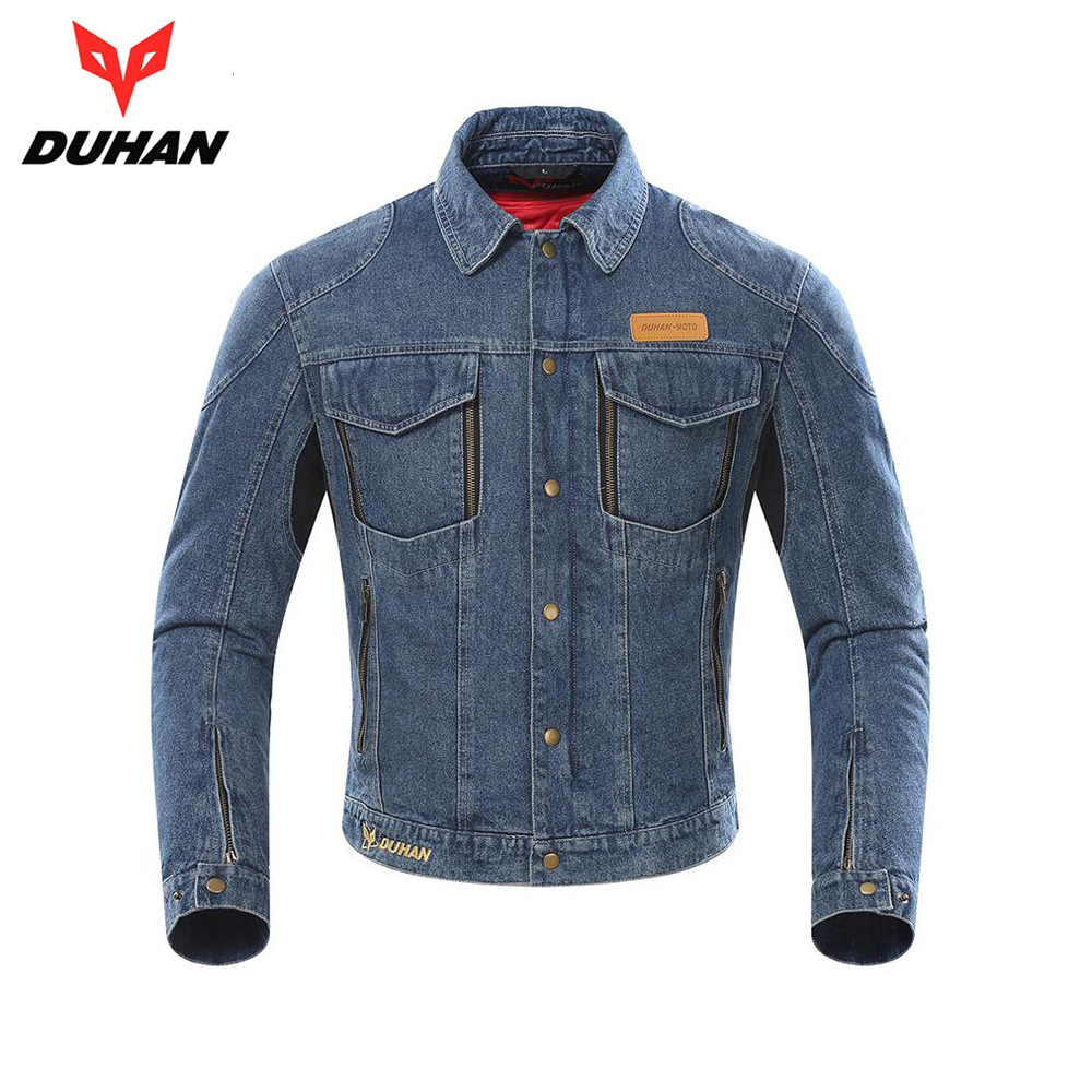 DUHAN Motorcycle Jacket Men Moto Riding Jacket Chaqueta Motocross Windproof Moto Jacket Protective Gear Whith Removable Lining|Jackets|Automobiles & Motorcycles - title=