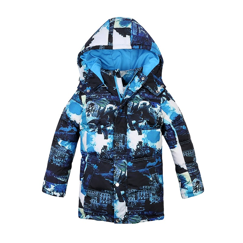 Sardiff Brand  Baby Boys Winter Coats Jackets Camouflage Print White Duck Down Parkas Hooded Children Clothes Kids Clothing kids clothes children jackets for boys girls winter white duck down jacket coats thick warm clothing kids hooded parkas coat