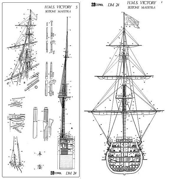 Scale 1200 British Classic Ancient Mini Section Ship Model 1778 Hms