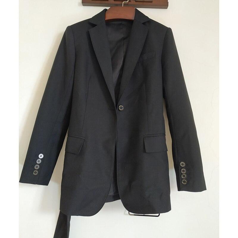 2019 nieuwe stijl lente vrouwen kleding Pak Zwart wit stijl jasje Casual mode bezetting vrouwen tops-in Blazers van Dames Kleding op  Groep 1