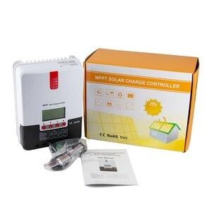 Image 5 - 20A MPPT คอนโทรลเลอร์ชาร์จพลังงานแสงอาทิตย์ 12V 24V Auto LCD MAX 100V อินพุต PV พลังงานแสงอาทิตย์สำหรับ AGM lead Acid เจลแบตเตอรี่ลิเธียม
