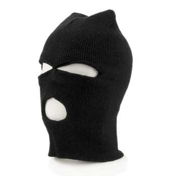 Face Mask bike Full Face Cover Ski Mask Three 3 Hole Balaclava Knit Hat Winter Stretch Snow mask Beanie bike Hat Cap New face mask