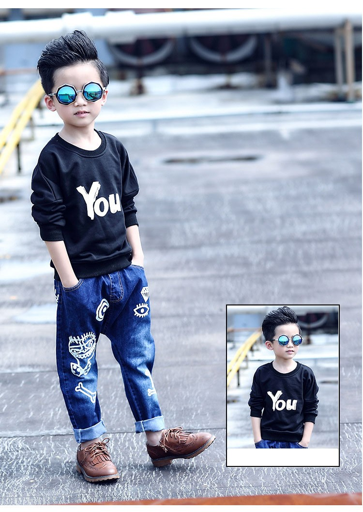 high quality fashion 2017 children jeans for boys kids scrawl pattern denim pants clothing children baby little big boy jeans clothes 6 7 8 9 10 11 12 13 14 15 16 years old (20)