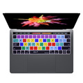 US Version  / EU Version Photoshop Shortcut Hot key Keyboard Cover Skin For Macbook Pro 13 15 A1706 A1707 (2016) With Touch Bar