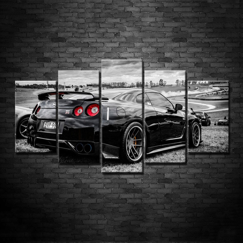 Nissan Skyline All Generations: Modular Wall Art Pictures Canvas HD Printed Poster Modern