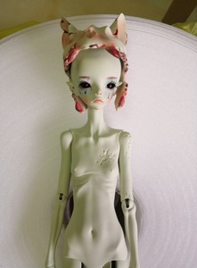Image 5 - Free shipping 1/4 bjd doll The Hermit IX gray green color